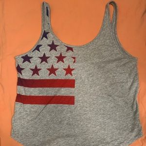 Under Armour American flag tank top